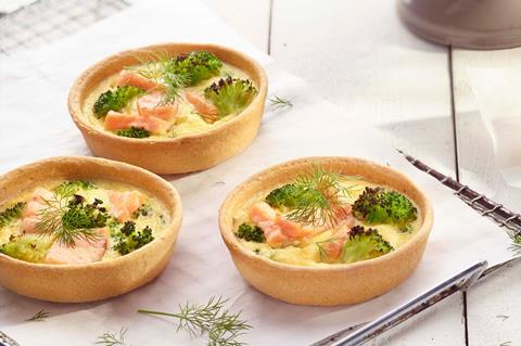 Pidy's new quiche tarts