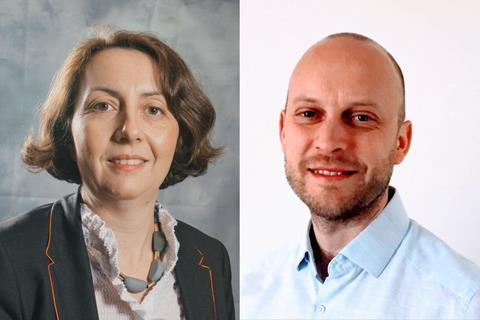 Stephanie Brillouet and Andy Thomas for webinar