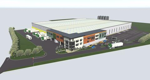 An artist's impression of the new Village Bakery site