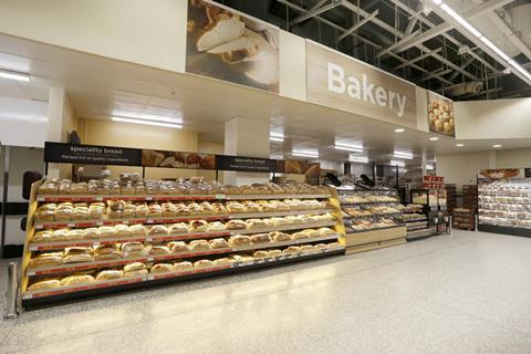 Asda in store bakery