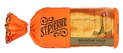 You are currently viewing St Pierre scores Co-op listing for brioche loaf