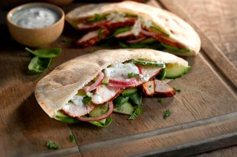 Warburtons makes brand debut in pitta breads
