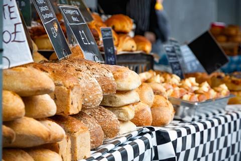 Which city's shoppers have boosted their bakery spend the most?