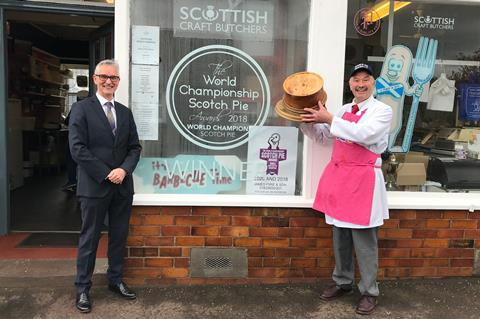 You are currently viewing First World Scotch Pie 'champ of champs' crowned