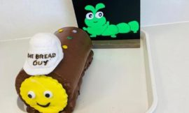 Pastry shops unveil new caterpillar party cakes