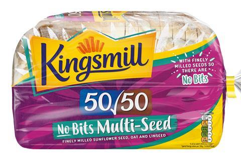 Kingsmill Multiseed No-Bits with Farmhouse bread pack shot 6248217 full