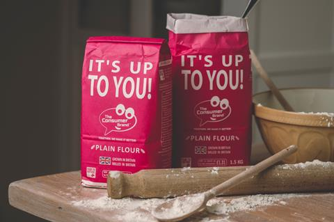 The Consumer Brand's new flour Its up to You