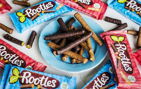 Rootles chocolate biscuits