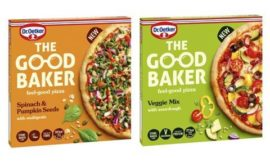 Dr Oetker launches The Good Baker better-for-you pizza brand name