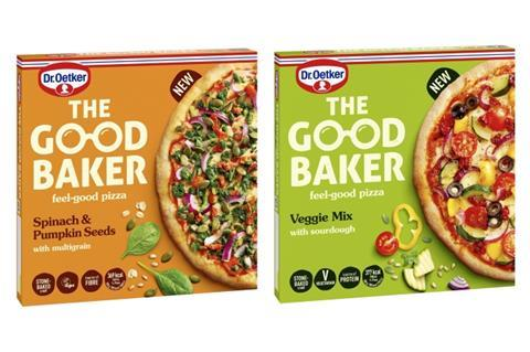 Read more about the article Dr Oetker launches The Good Baker better-for-you pizza brand name