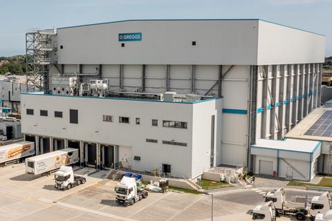 You are currently viewing Greggs reduces ribbon on automated cold storage facility