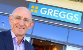 Secret messages from Greggs' CEO Roger Whiteside at Lunch!